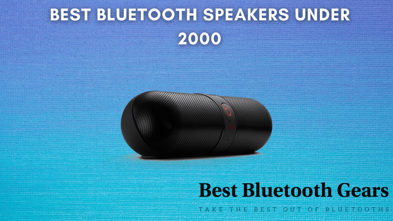 10 Best Bluetooth Speakers Under 2000